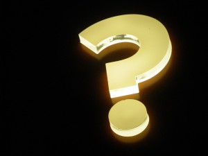 lighted-sign-question-mark
